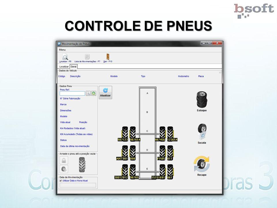CONTROLE DE PNEUS