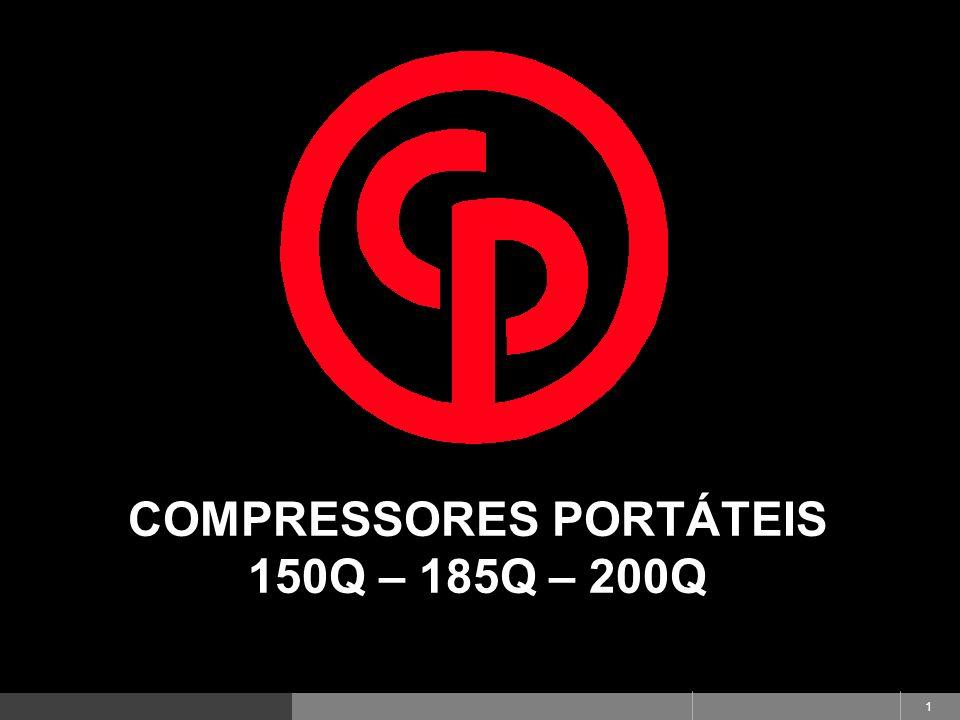 Produtos de Alta Performance. Desenvolvidos para Você! 1 COMPRESSORES PORTÁTEIS 150Q – 185Q – 200Q