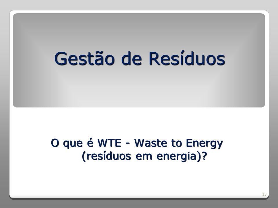 14 O QUE É WASTE-TO-ENERGY (WTE) .