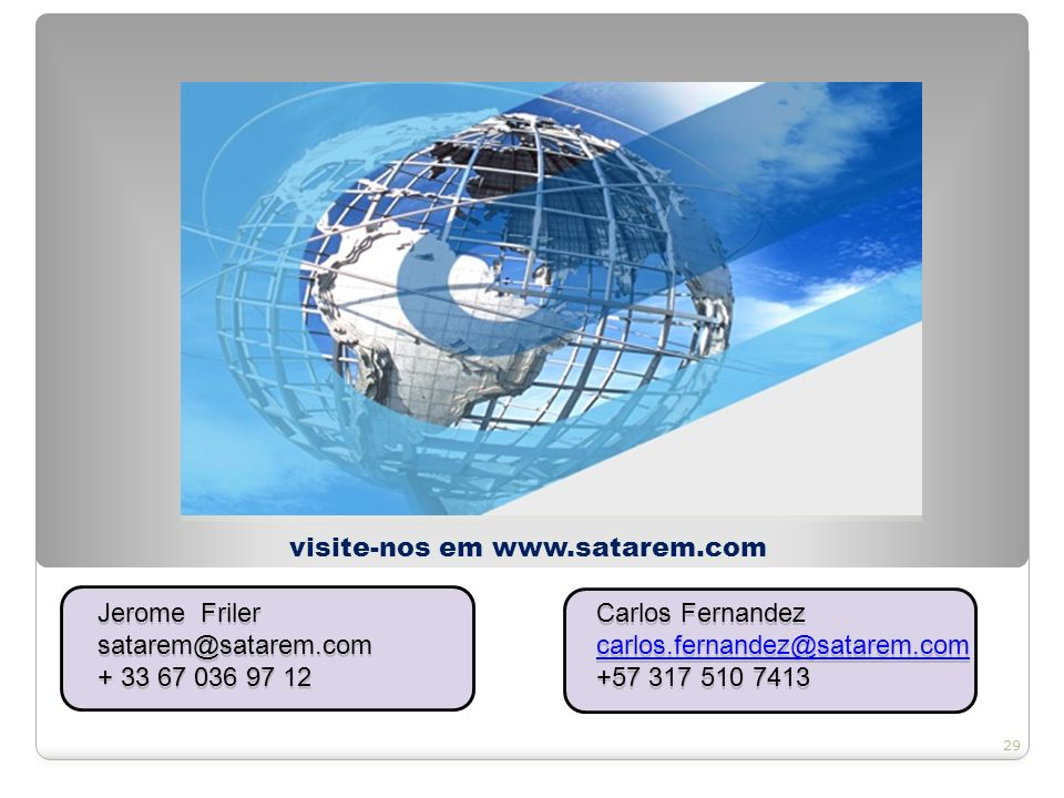SOLUÇÕES AMBIENTAIS Arthur M Barbosa Jr guajaraambiental@uol.com.br +55 11 98527 6950 Eng.