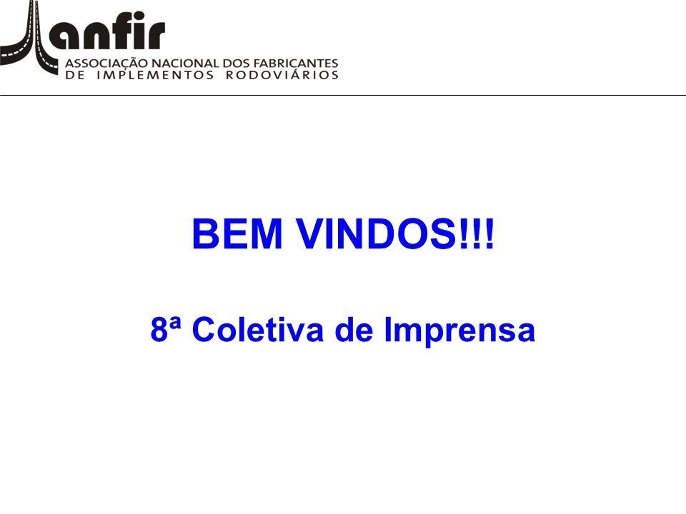 BEM VINDOS!!! 8ª Coletiva de Imprensa