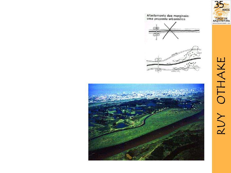 a proposta urbanística RUY OTHAKE