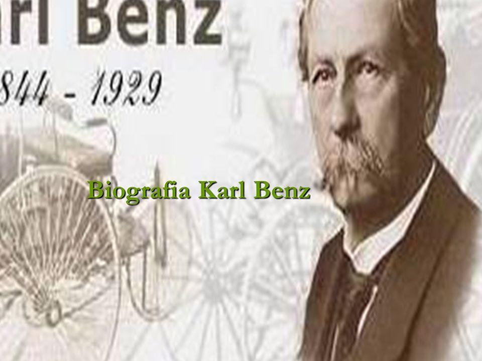 Biografia Karl Benz