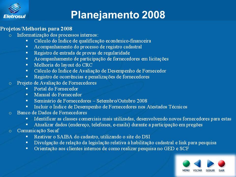 Planejamento 2008