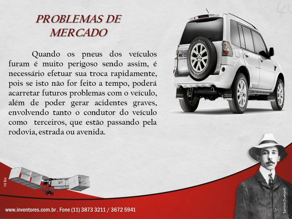Quando os pneus dos veículos furam é muito perigoso sendo assim, é necessário efetuar sua troca rapidamente, pois se isto não for feito a tempo, poder