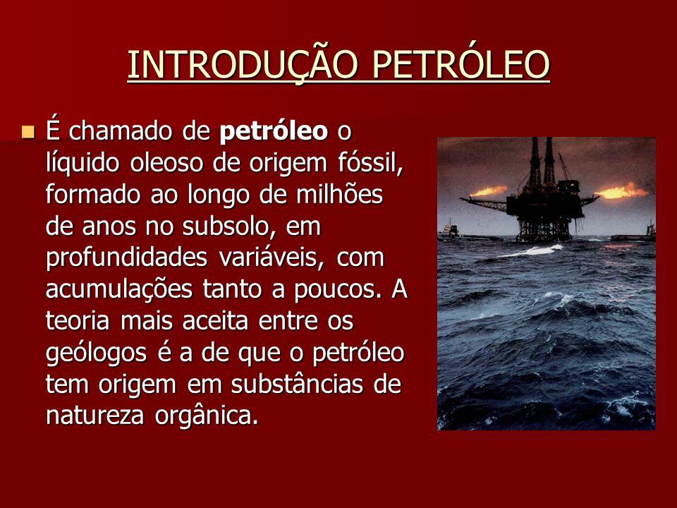 DERIVADOS DO PETRÓLEO Gás liquefeito de petróleo(GLP) Consiste de uma mistura composta por butano e propano, sendo armazenado em botijões e utilizado como gás de cozinha.