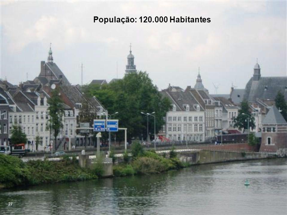 27 População: 120.000 Habitantes