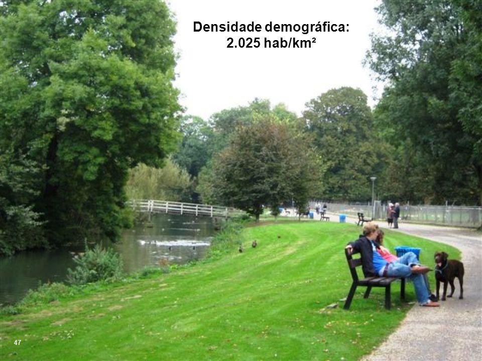 47 Densidade demográfica: 2.025 hab/km²