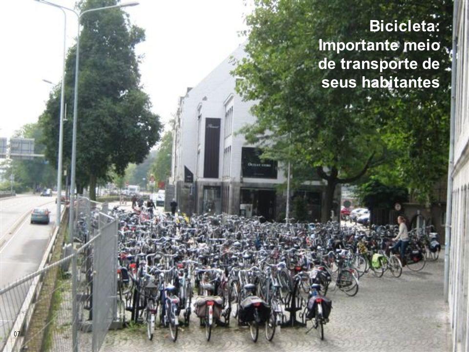 Bicicleta: Importante meio de transporte de seus habitantes 07