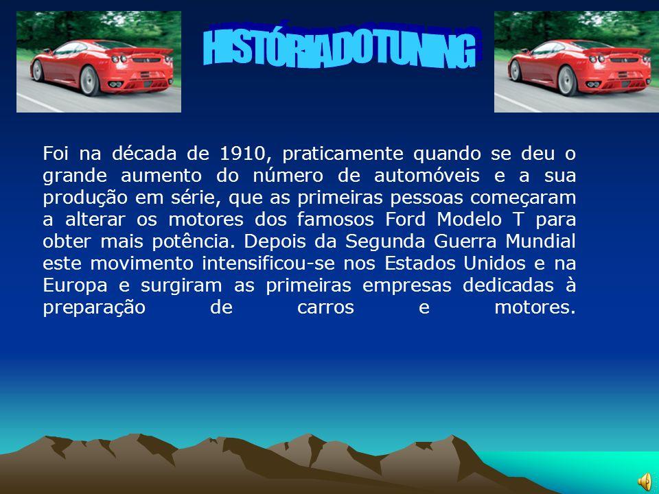 Foi na década de 1910, praticamente quando se deu o grande aumento do número de automóveis e a sua produção em série, que as primeiras pessoas começar