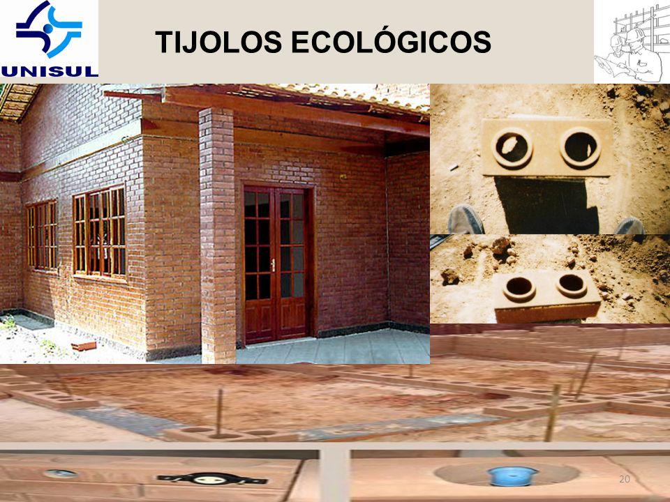 TIJOLOS ECOLÓGICOS 20