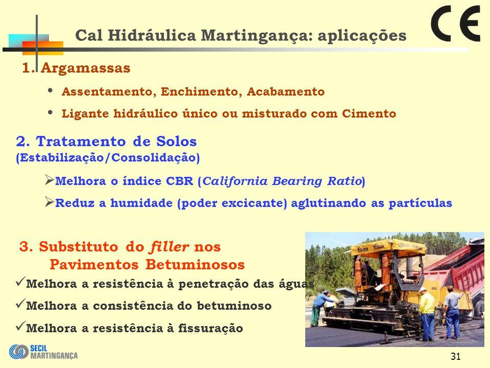 31 Cal Hidráulica Martingança: aplicações 1.