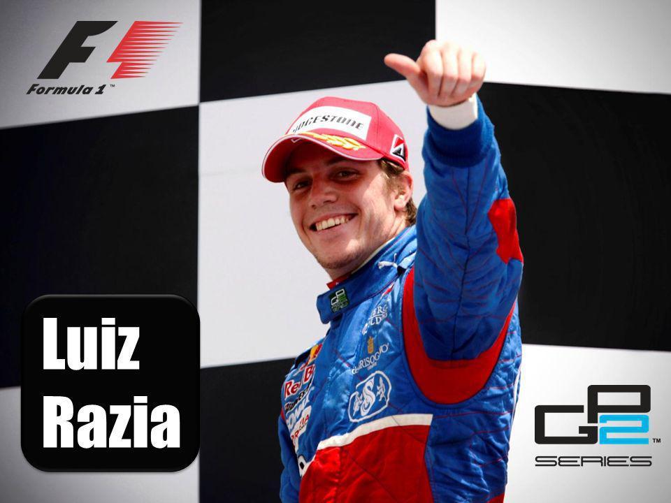 Fórmula 1 Equipe Virgin Racing Piloto de testes e reserva GP2 Series Equipe Rapax Team Piloto oficial da temporada