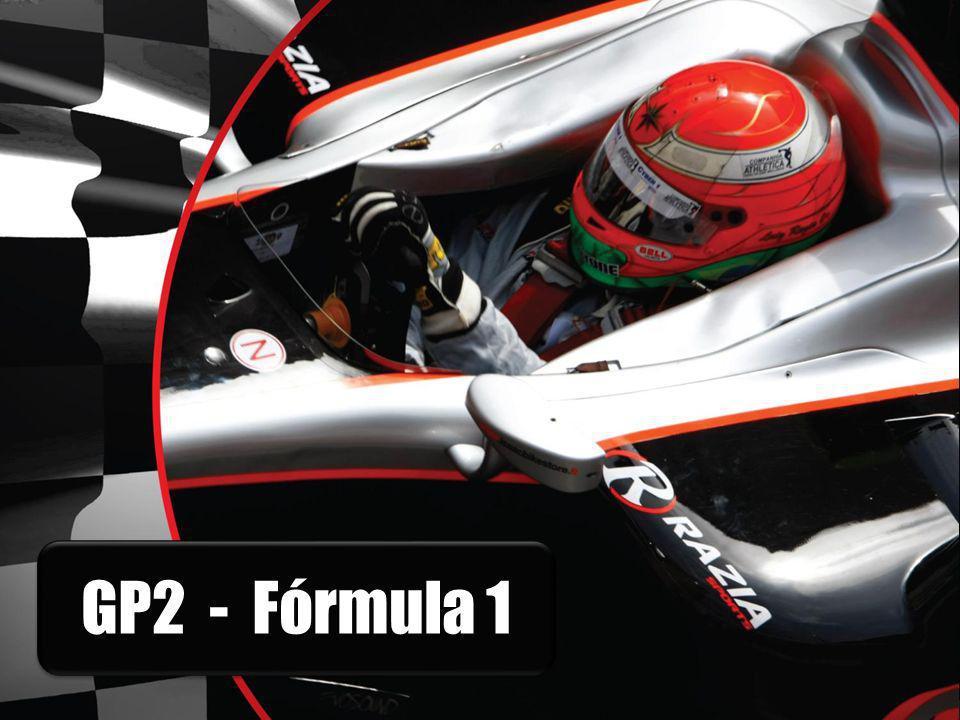 O QUE É A GP 2 SERIES GP2 Series é uma categoria de automobilismo criada em 2005 por Flavio Briatore, então chefe da equipe Renault de F1.