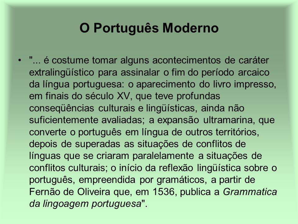 O Português Moderno