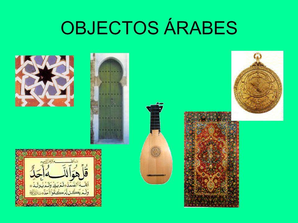 OBJECTOS ÁRABES
