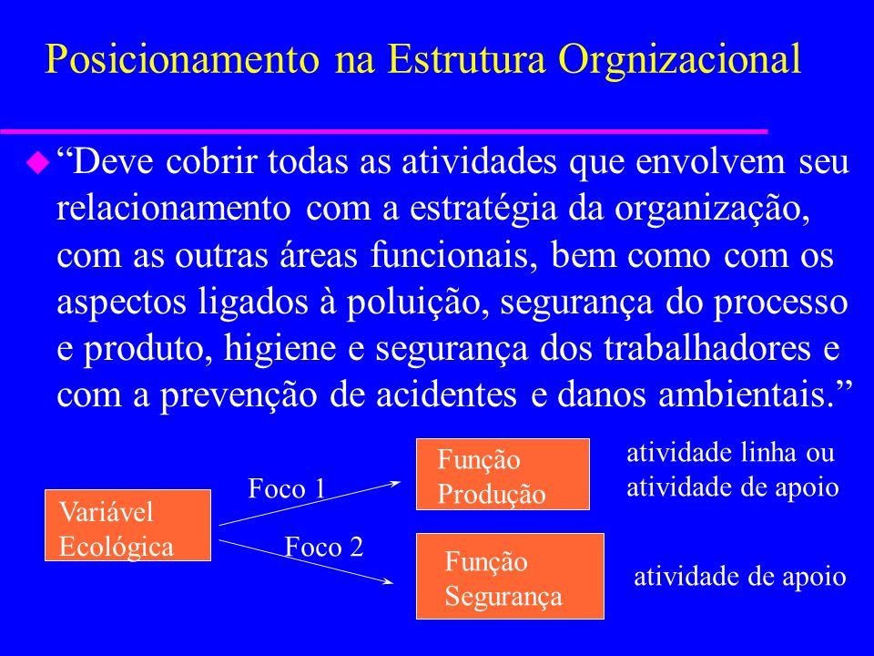 Deve ter uma atividade específica ou possuir uma função administrativa determminada? u Em função do Tamanho: –Pequenas e médias –Pequenas e médias (ma