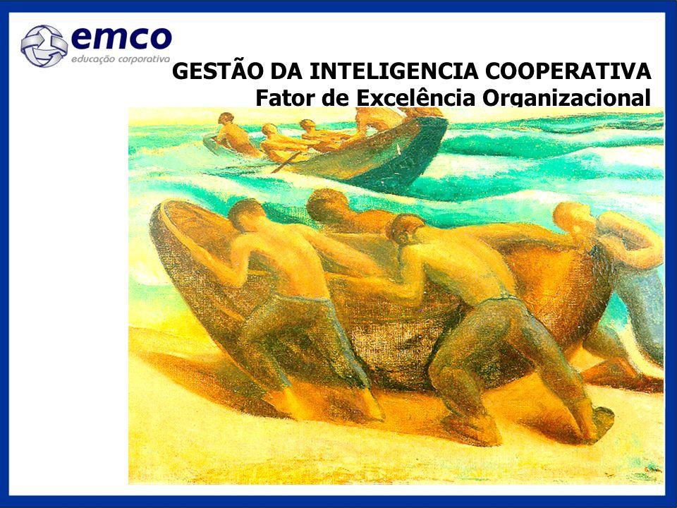 GESTÃO DA INTELIGENCIA COOPERATIVA Fator de Excelência Organizacional