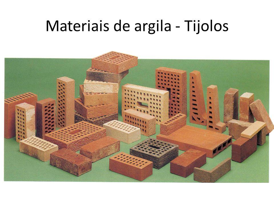 Materiais de argila - Tijolos