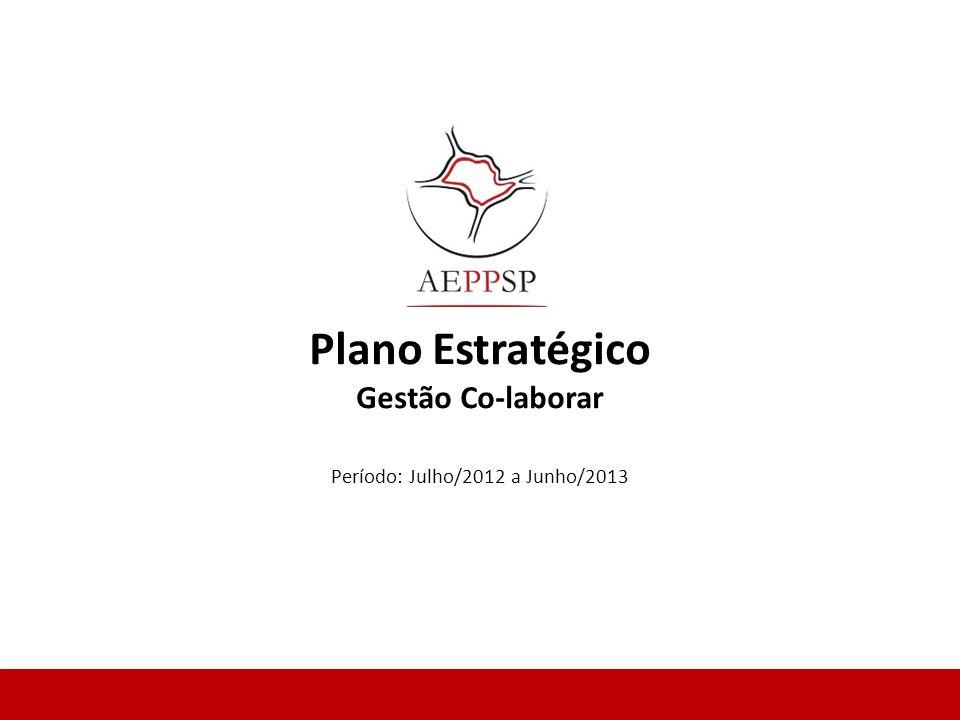 Plano Estratégico Gestão Co-laborar Período: Julho/2012 a Junho/2013