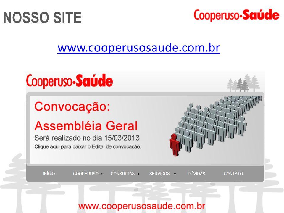 NOSSO SITE www.cooperusosaude.com.br