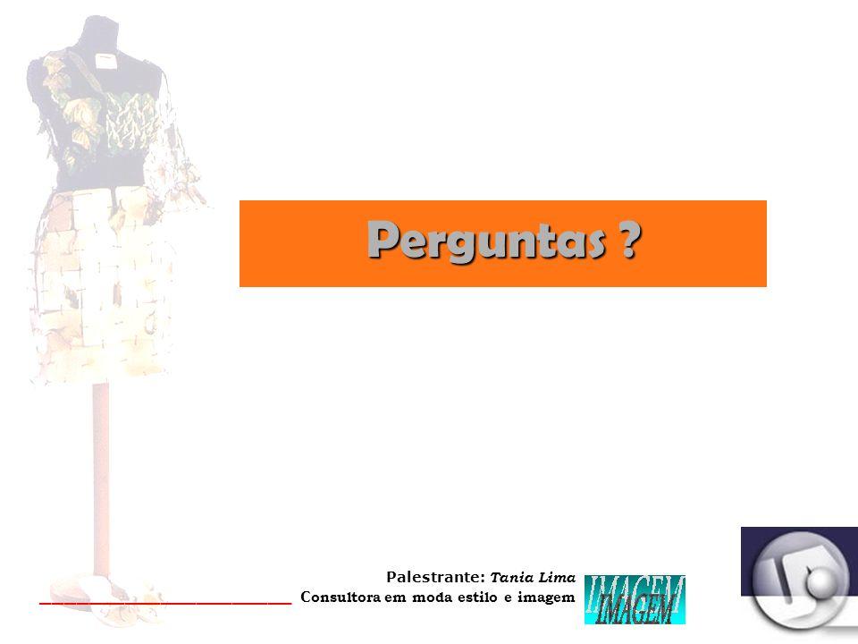Palestrante: Tania Lima _____________________ C onsultora em moda estilo e imagem SPFW 2008 - 1 7 a 22 junho PATRÍCIA VIEIRA (couro) Ao som de Marvin