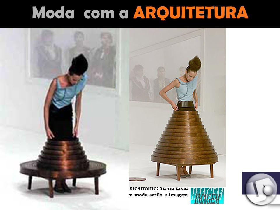Palestrante: Tania Lima _____________________ C onsultora em moda estilo e imagem Moda com a ARTE