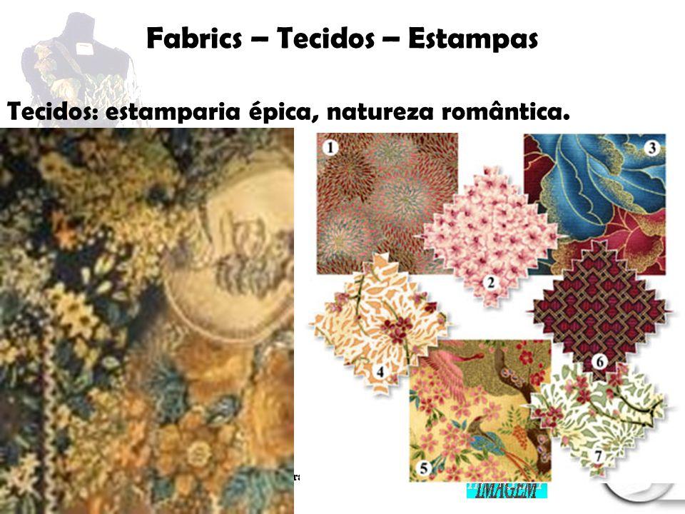 Palestrante: Tania Lima _____________________ C onsultora em moda estilo e imagem Fabrics – Tecidos – Estamparia