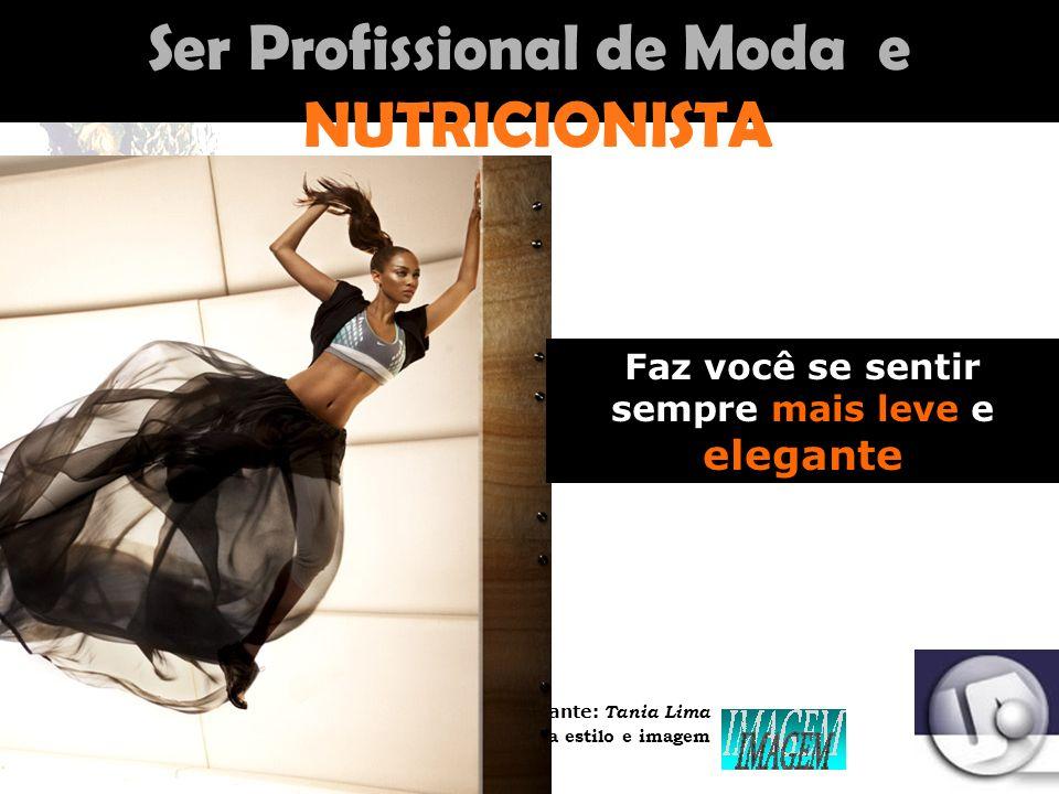 Palestrante: Tania Lima _____________________ C onsultora em moda estilo e imagem Moda com a GASTRONOMIA Moda com a ECONOMIA