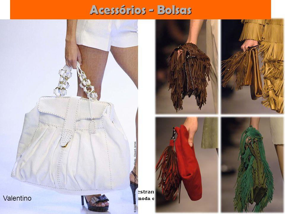 Palestrante: Tania Lima _____________________ C onsultora em moda estilo e imagem Acessórios - Bolsas