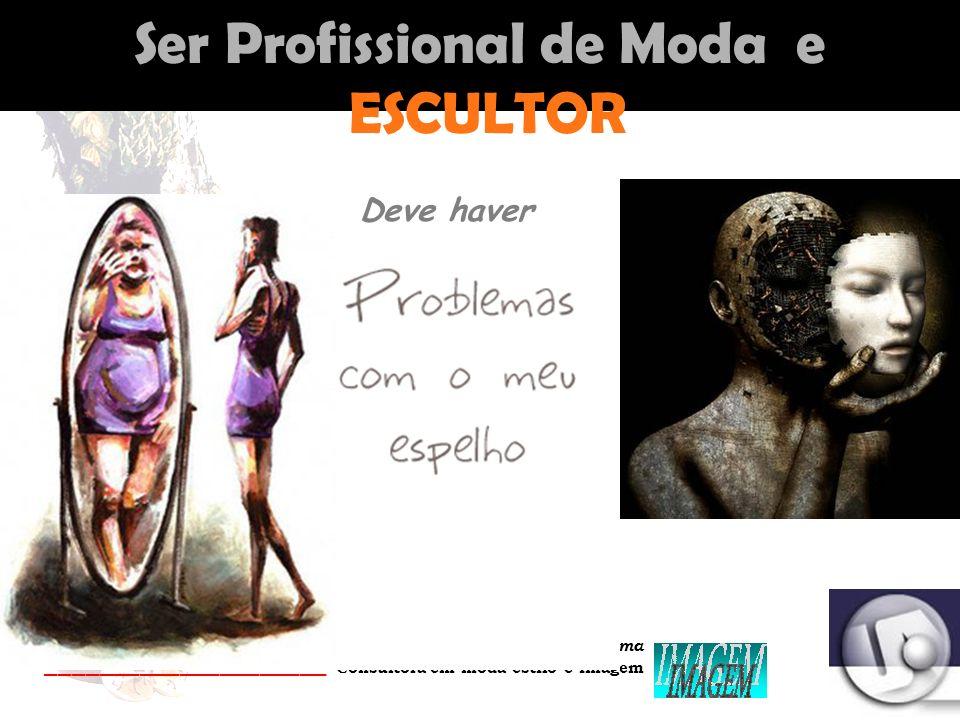 Palestrante: Tania Lima _____________________ C onsultora em moda estilo e imagem Ser Profissional de Moda e ESCULTOR Deve haver