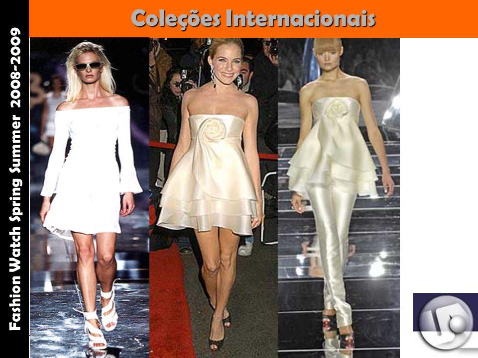 Palestrante: Tania Lima _____________________ C onsultora em moda estilo e imagem Coleções Internacionais Fashion Watch Spring Summer 2008-2009 Valentino