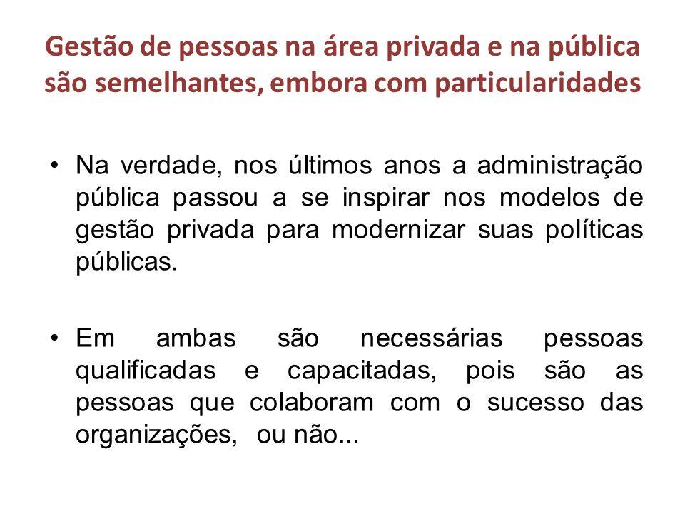 OUTRO EXEMPLO DE MUDANÇA: (23-3 3) III assunto: Gestão estratégica de pessoas na gestão pública!!!