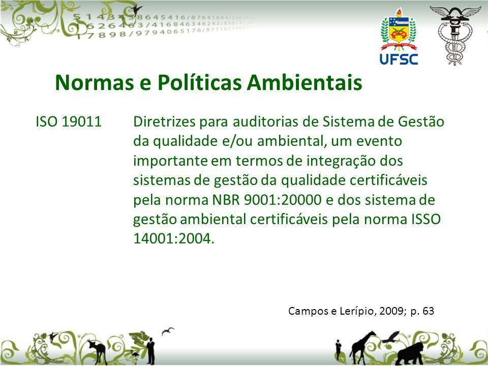 ISO 19011Diretrizes para auditorias de Sistema de Gestão da qualidade e/ou ambiental, um evento importante em termos de integração dos sistemas de ges
