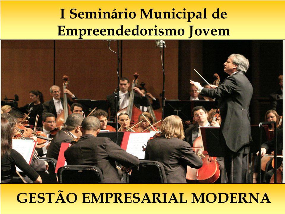 GESTÃO EMPRESARIAL MODERNA I Seminário Municipal de Empreendedorismo Jovem
