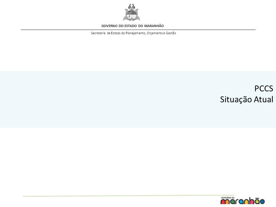 GOVERNO DO ESTADO DO MARANHÃO Secretaria de Estado do Planejamento, Orçamento e Gestão RESUMO GERAL – Quantitativo Grupos / Cargos OBS.: Cargos da EMARHP foram contemplados no estudo.