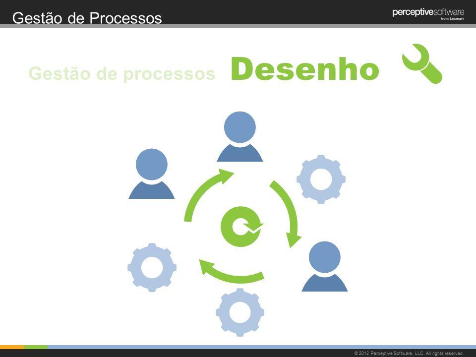 Gestão de Processos © 2012 Perceptive Software, LLC. All rights reserved. Desenho Gestão de processos