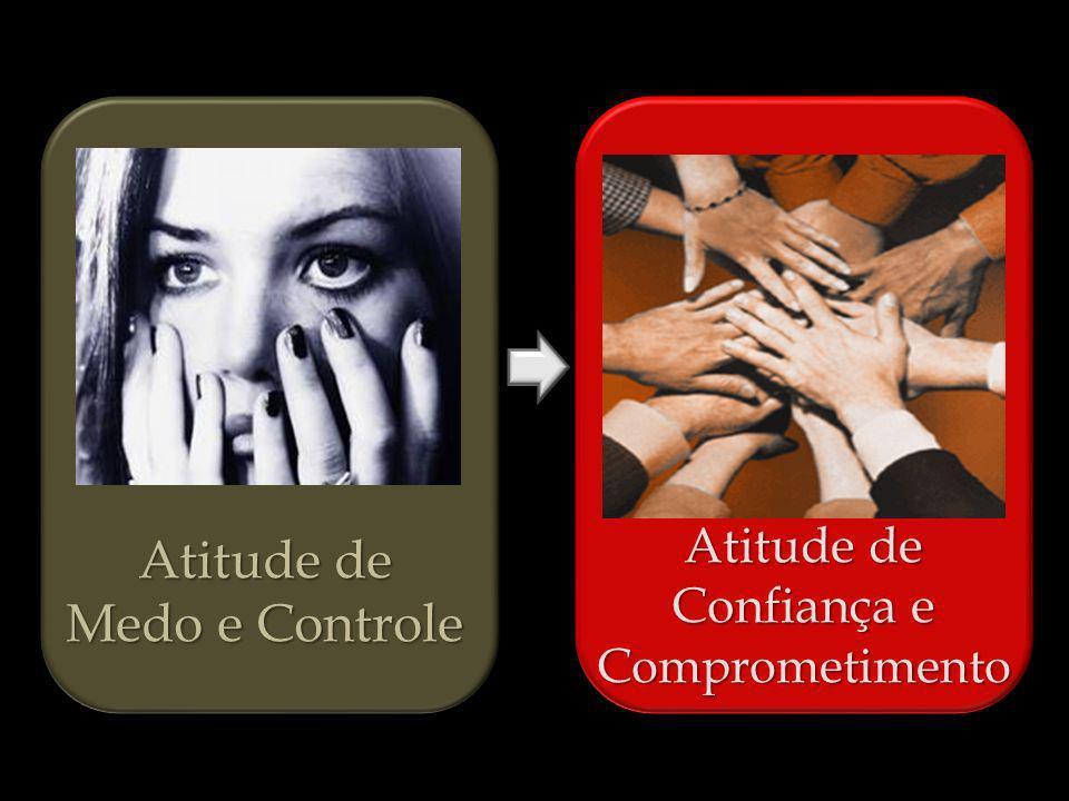 Atitude de Medo e Controle Atitude de Confiança e Comprometimento