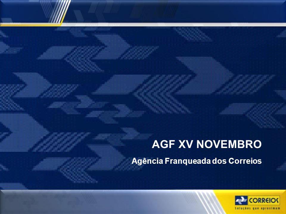 AGF XV NOVEMBRO Agência Franqueada dos Correios