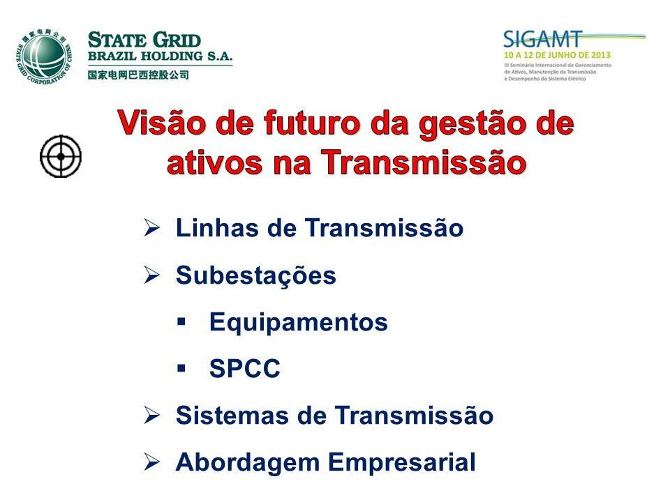 Linhas de Transmissão Subestações Equipamentos SPCC Sistemas de Transmissão Abordagem Empresarial