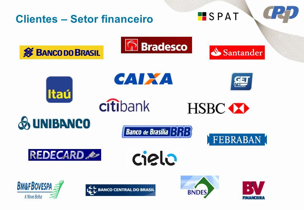 Clientes – Setor financeiro