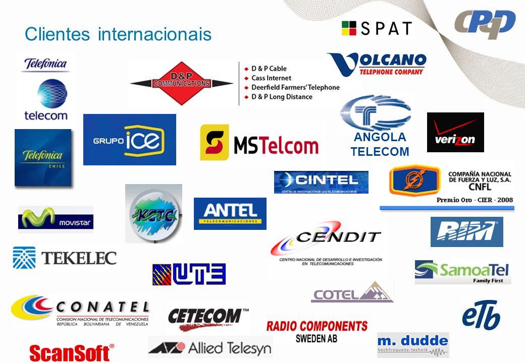 Clientes internacionais ANGOLA TELECOM