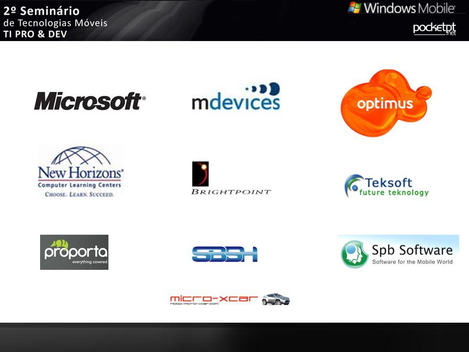 Pedro Lamas.NET Framework & CF Developer Administrador na comunidade Windows Mobile PocketPT.net Orador em eventos tecnológicos (Microsoft TechDays & DevDays, Seminários PocketPT.net, Faculdades…) Profissionalmente, passei por empresas como LiveSolutions e Indra, actualmente Team Leader na Microfil Tecnogeek