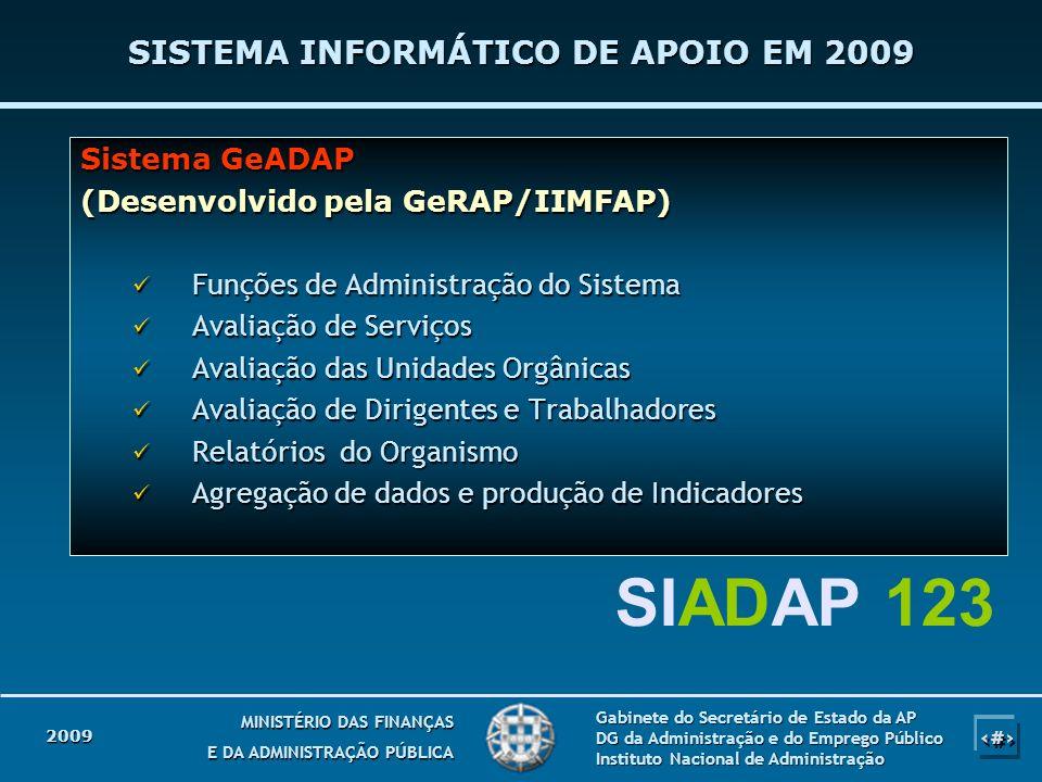 30 MINISTÉRIO DAS FINANÇAS E DA ADMINISTRAÇÃO PÚBLICA Gabinete do Secretário de Estado da AP DG da Administração e do Emprego Público Instituto Nacion