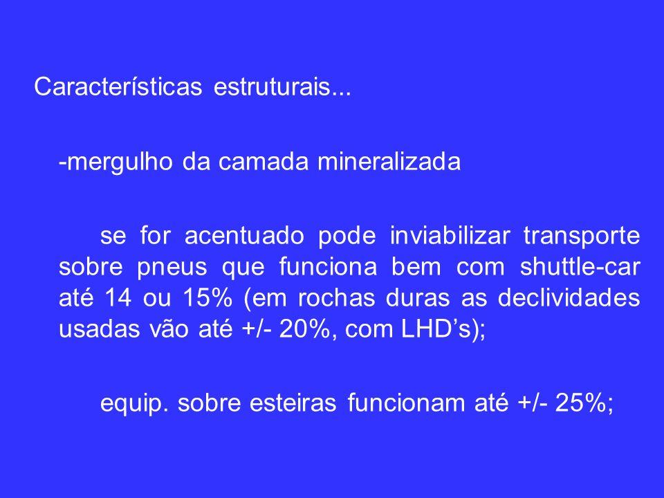 Características estruturais...
