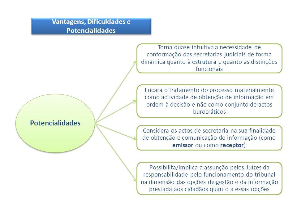 Vantagens, Dificuldades e Potencialidades Potencialidades