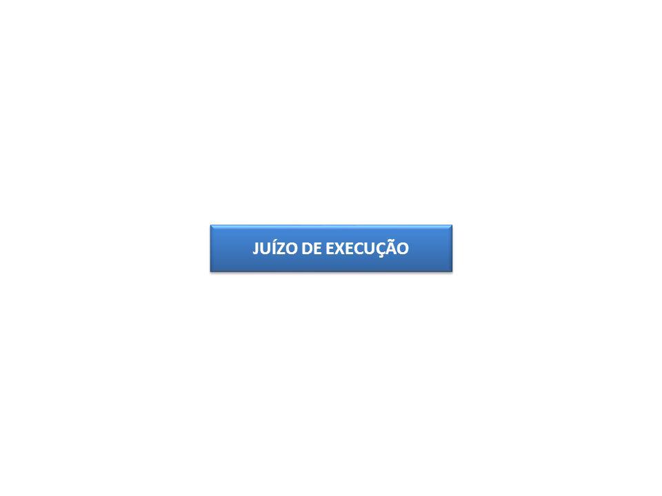 JUÍZO DE EXECUÇÃO
