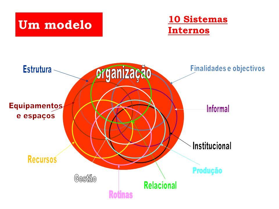 Um modelo 10 Sistemas Internos