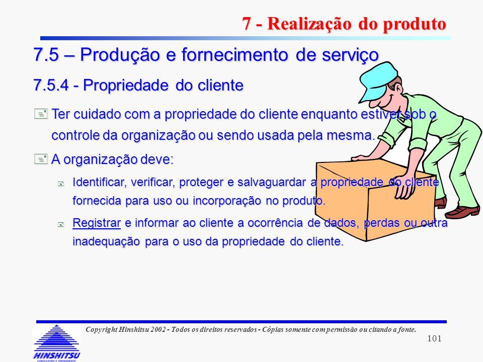 101 Copyright Hinshitsu 2002 - Todos os direitos reservados - Cópias somente com permissão ou citando a fonte. Ter cuidado com a propriedade do client