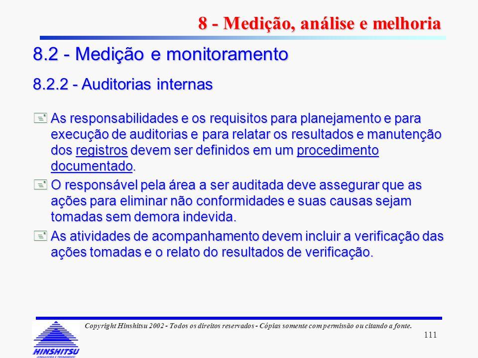 111 Copyright Hinshitsu 2002 - Todos os direitos reservados - Cópias somente com permissão ou citando a fonte. As responsabilidades e os requisitos pa